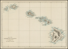 Hawaii and Hawaii Map By Royal Geographical Society
