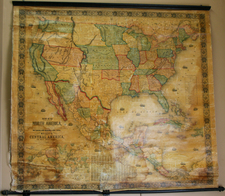 United States, Plains, Rocky Mountains and North America Map By Jacob Monk