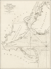 Mid-Atlantic Map By Georges Louis Le Rouge