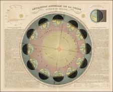 Celestial Maps Map By Eugène Andriveau-Goujon