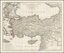 Turkey, Turkey & Asia Minor and Balearic Islands Map By Jean-Baptiste Bourguignon d'Anville