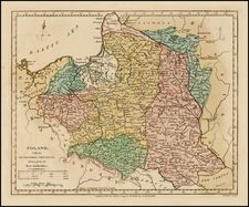 Poland Map By Robert Wilkinson