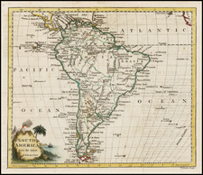 South America Map By Thomas Conder