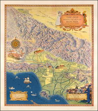 Los Angeles Map By Title Insurance & Trust Company  &  Gerald A. Eddy