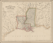 South Map By Henry Darwin Rogers  &  Alexander Keith Johnston