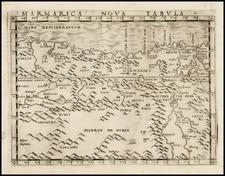 North Africa Map By Giacomo Gastaldi