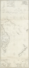 Australia, Oceania and New Zealand Map By John William Norie