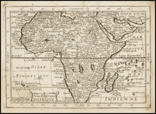Africa and Africa Map By Jean Picart