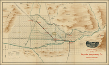 Southwest Map By Anonymous