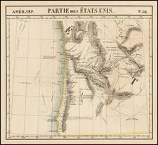 Map By Philippe Marie Vandermaelen
