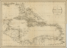 Florida and Caribbean Map By John Russell