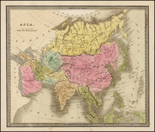 Asia and Asia Map By Jeremiah Greenleaf
