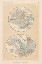 South and Midwest Map By Henry Darwin Rogers  &  Alexander Keith Johnston