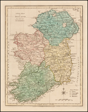 Ireland Map By Robert Wilkinson