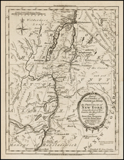 Mid-Atlantic Map By London Magazine