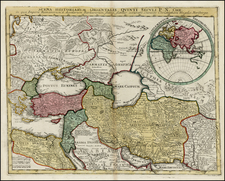 Ukraine, Balkans, Turkey, Central Asia & Caucasus, Middle East and Turkey & Asia Minor Map By Christopher Weigel