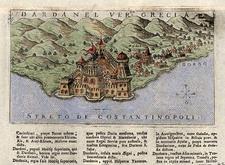 Europe, Turkey, Asia, Turkey & Asia Minor and Greece Map By Alphonsus Lasor a Varea