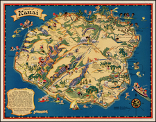 Hawaii and Hawaii Map By Ruth Taylor White
