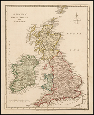 British Isles Map By Robert Wilkinson