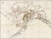 Alaska Map By U.S. Geological Survey