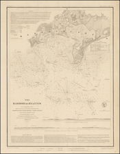 Maine Map By United States Coast Survey
