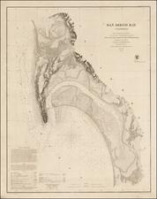 California Map By United States Coast Survey