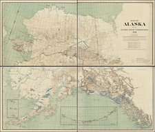 Alaska Map By United States Coast Survey