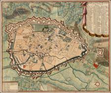 Map By Eugene Henri Fricx