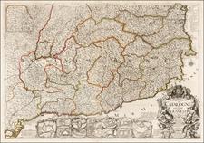 Spain Map By Jean-Baptiste Nolin
