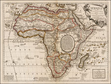Africa and Africa Map By Jean-Baptiste Nolin