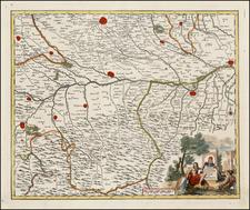 Italy Map By Giambattista Albrizzi