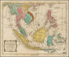Southeast Asia, Philippines and Other Islands Map By Universal Magazine