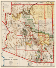 Southwest Map By General Land Office