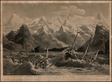 Alaska Map By Louis Philippe Crepin