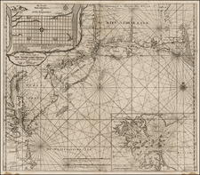 New England and Mid-Atlantic Map By Gerard Van Keulen