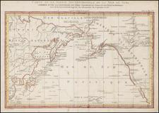Alaska, Hawaii, China, Pacific, Hawaii, Russia in Asia, California and Canada Map By Dupuis
