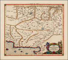 Central Asia & Caucasus Map By  Gerard Mercator
