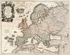 Europe and Europe Map By Jean-Baptiste Nolin