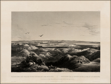 Plains and Rocky Mountains Map By Karl Bodmer