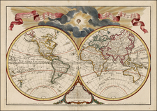 World and World Map By Jean André Dezauche