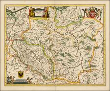 Poland Map By Willem Janszoon Blaeu