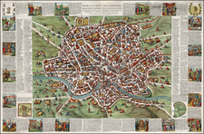 Italy and Rome Map By Giacomo Giovanni Rossi