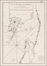 India Map By Jean-Baptiste-Nicolas-Denis d'Après de Mannevillette