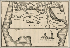 Africa, Africa and North Africa Map By Caius Julius Solinus