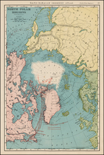 Polar Maps Map By William Rand  &  Andrew McNally