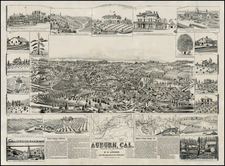 California Map By W.W. Elliott & Co.