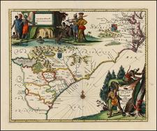 Southeast Map By John Ogilby