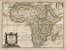 Africa and Africa Map By Pierre Du Val
