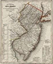 Mid-Atlantic Map By Joseph Meyer