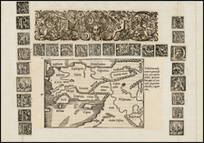 Middle East, Turkey & Asia Minor and Curiosities Map By Caius Julius Solinus